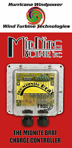 Midnite The Solar Brat Charge Controller 30a Pwm W lighting Controller Load Us
