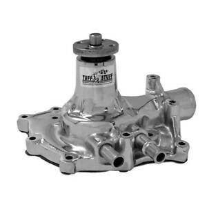 Tuff Stuff Water Pump 1432a Chrome Cast Iron For Ford 289 302 351w Sbf