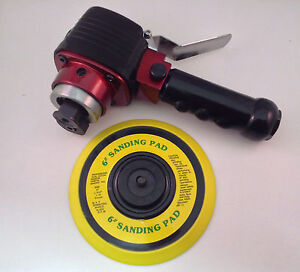 6 Heavy Duty Dual Action Orbital Sander