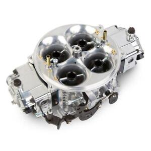Holley Carburetor 0 80908bk 1250 Cfm 4 Barrel No Choke Black Anodized Polished