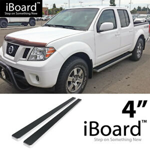 4 Eboard Running Boards Fit Nissan Frontier equator Crew Cab 05 18