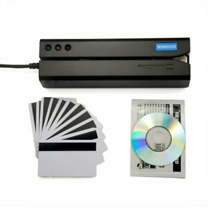 Stripe Card Reader Writer Encoder Maker Magnetic Program Bank Business Swipe Id