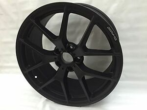 19 Sls Amg Style Staggered Wheels 5x112 Black Rims Fits Mercedes C300 2008 2015