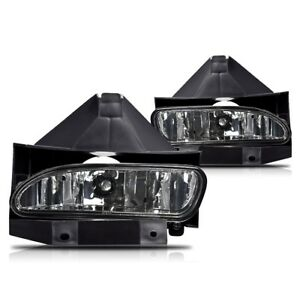 For Ford Mustang 99 04 Smoke Lens Pair Bumper Fog Light Lamp Oe Replacement Dot