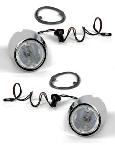 New 1969 1970 Ford Mustang Back Up Lamp Kit Pair Gaskets Lenses Bulbs Body