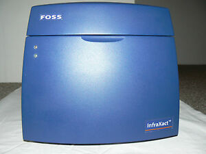 Foss Infraxact Near Infrared Spectroscopy Nir Analysis Nirs