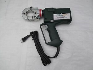Greenlee Gator Ck22gl Electric Powered Burndy High speed Crimping Tool