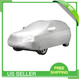 Car Cover Waterproof Rain Resistant All Weather Protection For Honda Civic Crv