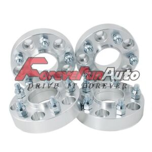 4pc 1 5x4 5 Hubcentric Wheel Spacers Adapters 12x1 5 Studs For Ford Jeep Mazda