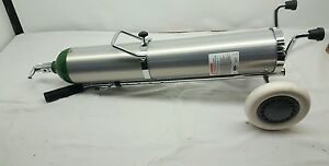 Mada 1602e Medical Oxygen Cylinder With Cylinder Trolley