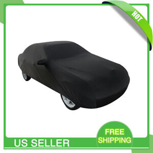 Black Car Vehicle Cover Stormproof Waterproof Durable Breathable 3xxl