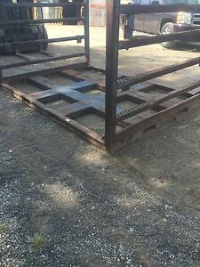 Steel Pallet Shipping Pallet Stack Rack Storage Bins Warehouse Rack Pallet