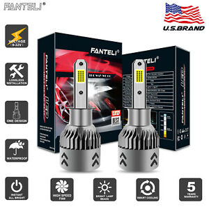White 1950w 292500lm H3 Led Fog Lights Bulbs Headlight Lamp Conversion Kit 6000k