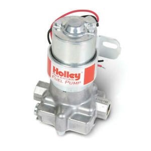 Holley Electric Fuel Pump 12 801 1 Red 97 Gph 7psi Cast Aluminum Gasoline