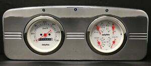 1935 1936 Chevy Car Quad Gauge Cluster Metric