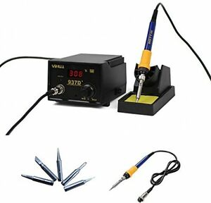 Soldering Iron Station With Extra Heating Element And 5 Tips 937d
