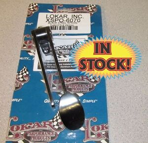 Lokar Xspo 6070 Spoon Gas Pedal Black