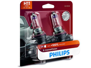 2x Philips H11 X Tremevision 12362 Xvb2 Headlight Upgrade 100 More Light Bulb