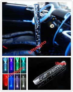 Universal 4 5 6 Speed Scrytal Bubble 30cm 11 8 Inch Led Light Shift Knob Lever