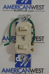 Pass Seymour Combo Device 2 3 way Switches 15 A 120 277 V Cat 693 lag