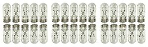 30x 194 Bright T10 Wedge Car Mini Lamp 5050 Light Bulbs W5w 2825 158 192 168 Lot