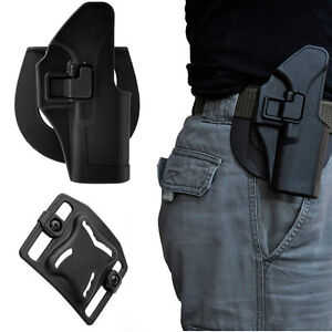 Right Hand Belt Paddle Toy Gun Holster Quick Tactical fr Glock 17 19 22 23 31 32