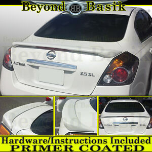 For 2007 08 09 2010 2011 2012 Nissan Altima Factory Style Spoiler W Led Primer