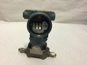 Rosemount 305icd2a22a1ab4 Hart Pressure Transmitter Untested