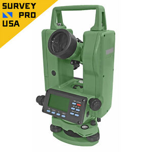 New Digital Theodolite 5 Seconds Accuracy With Dual Keyboard Ip55 Rating