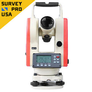 New Laser Digital Theodolite 5 Seconds Accuracy With Dual Keyboard Ip55 Rating
