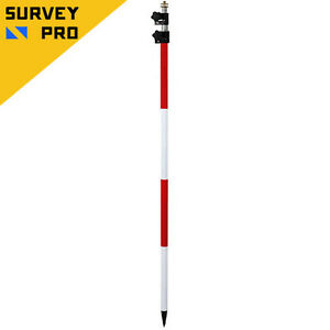 New Survey Pro 12 Tlv Prism Pole For Total Station topcon sokkia trimble leica