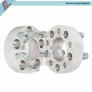 2pcs 1 5 Thick 5x4 5 Wheel Spacers 1 2 X20 Studs For 2002 2010 Jeep Liberty