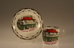 Rosina Dicken S Old Curiosity Shop Demitasse Cup And Saucer England