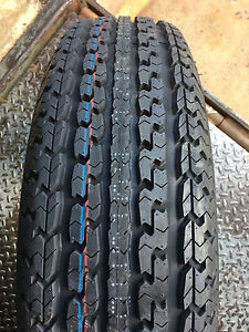 1 New St 205 75r15 Turnpike Trailer Radial Tire 8 Ply 205 75 15 St 2057515 R15