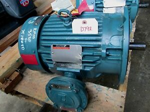 Reliance Electric Duty Master A c Motor Id 13yab94260a1 3 Hp 3520 Rpm new