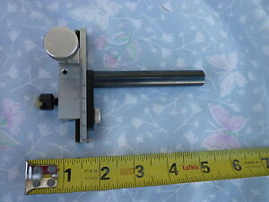 Vintage Microscope Stage Optical