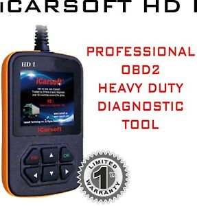 Icarsoft Heavy Duty Hdi Diagnostic Tool Scanner For Freightliner Mack Diesel Etc