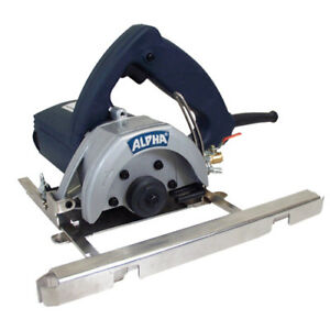 Alpha Aws 110 4 1 2 Wet Stone Cutter 110v