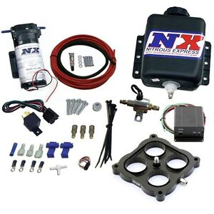 15026 Nitrous Express 4150 Carb Water Methanol Injection Kit Stage 2 Vacuum