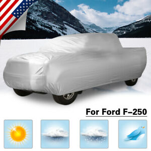 Breathable Truck Pickup Car Cover Sun Uv Rain Dust Resistant For Ford F 250