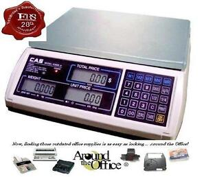 Cas Scale S 2000 Jr 15 Lb Retail Price Computing Scale Lcd Display S2000jr