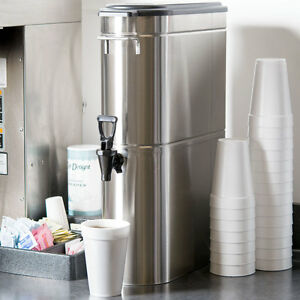 New Grindmaster Gtd3 fot Narrow 3 Gallon Stainless Steel Iced Tea Dispenser