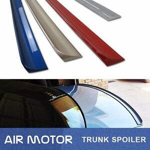 Puf Painted For Bmw E30 3 series 1984 1986 Rear Trunk Spoiler Wing