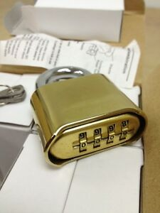 Qty 8 Master Lock Type Combination Padlocks 4 Dial School Locker Construction