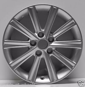 Set Of 4 Toyota Camry 2012 2013 2014 17 New Replacement Wheel Rim R 69603