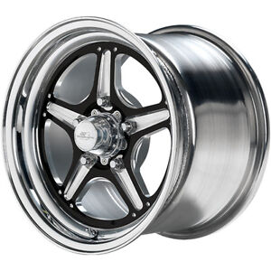 15x10 Billet Specialties Street Lite Black Wheel 5x4 75 7 5 Bs Brs0351f6175n