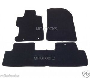 Fit For 2006 2011 Honda Civic 2 4 Dr All Models Black Nylon Carpet Floor Mats