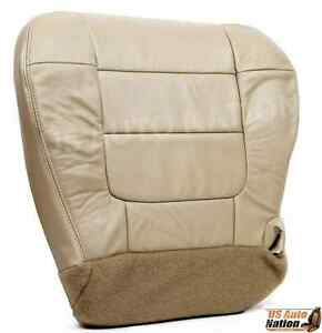 2001 2002 2003 Ford F150 Lariat Super Crew Driver Bottom Vinyl Seat Cover Tan