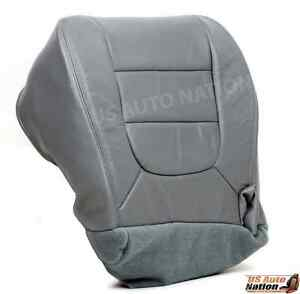 2001 2002 2003 Ford F150 Lariat Driver Bottom Replacement Vinyl Seat Cover Gray