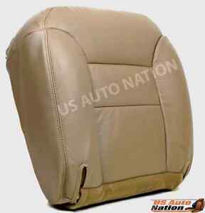 1995 1996 1997 1998 1999 Chevy Tahoe Front Driver Bottom Vinyl Seat Cover Tan